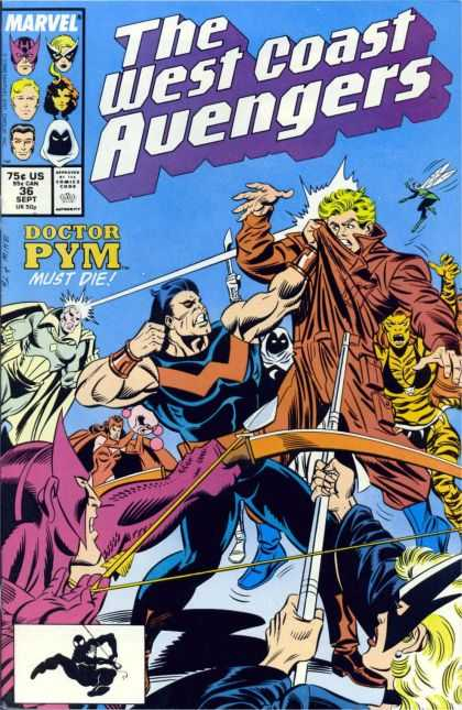 West Coast Avengers 36 - Doctor Pym Must Die - Marvel - Attack - Flying - Energy
