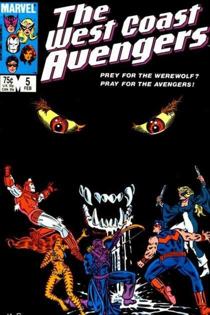 West Coast Avengers 5 - Joe Sinnott