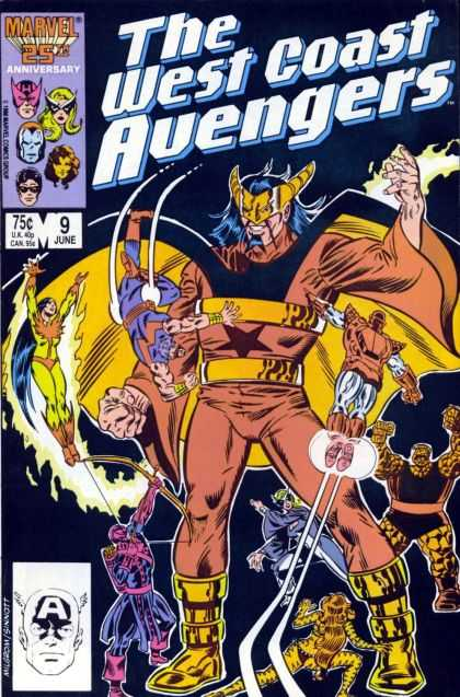 West Coast Avengers 9 - Joe Sinnott