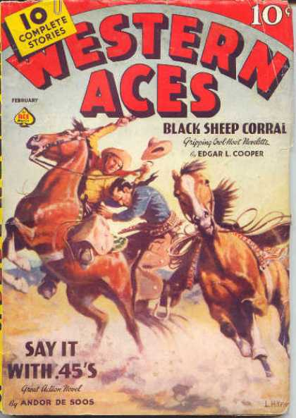 Western Aces - 2/1939