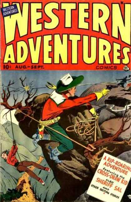 Western Adventures 6 - Western - Hanging From A Cliff - Shooting The Bad Guys - Save The Girl - Cross Draw Kid