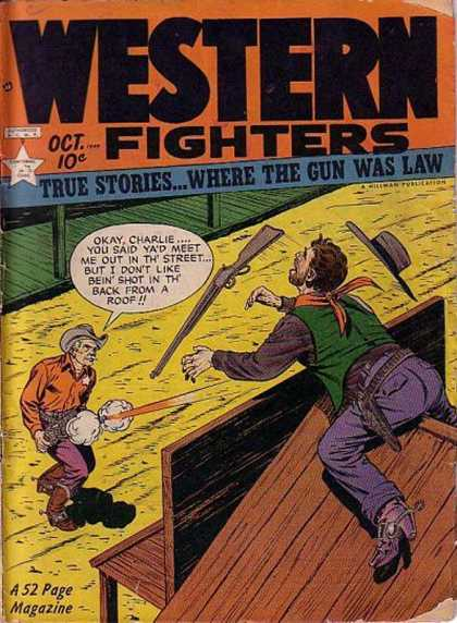 Western Fighters 11 - Roof Top - Rifle - Cowboy - Holster - Shots