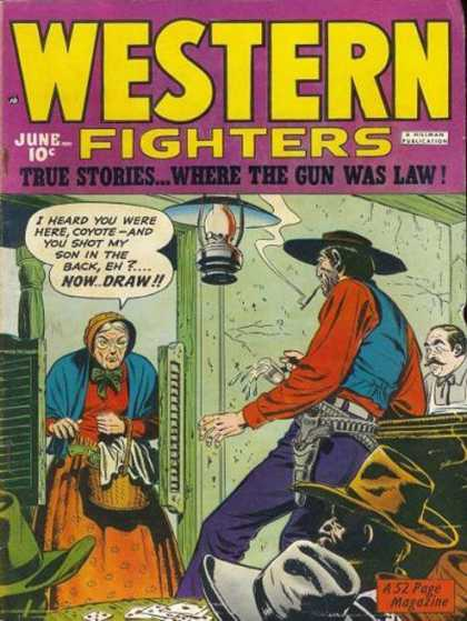 Western Fighters 19 - Saloon - Cowboys - Coyote - True Stories Where The Gun Was Law - Playing Cards