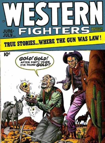 Western Fighters 2 - Cowboys - Donkey - Gold - Gun - Cactus