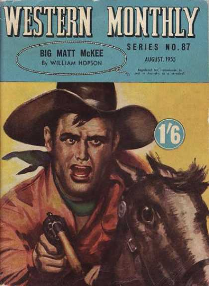 Western Monthly - 8/1955