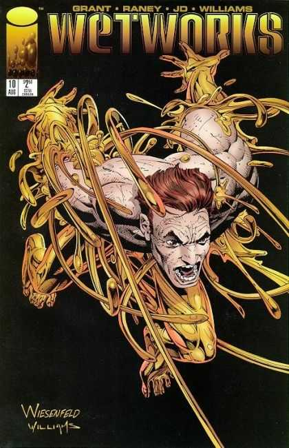 Wetworks 10 - Golden - Exposed Skin - Grant - Brown Hair - Image Comics - Whilce Portacio