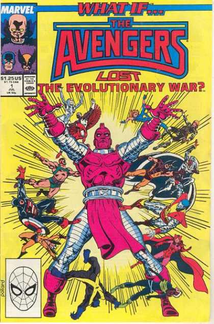 What If? 1 - Marvel - Avengers - Lost The Evolutionary War - Superhero - July