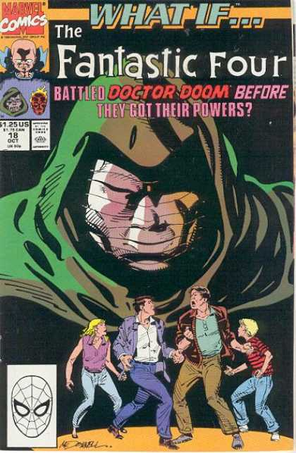What If? 18 - Fantastic Four - Marvel Comics - Doctor Doom - Powers - Battle