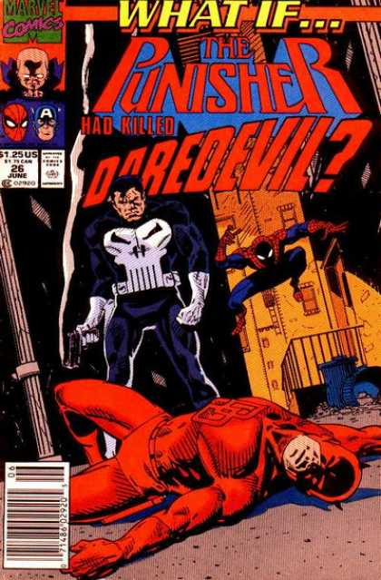 What If? 26 - Punisher - Spiderman - Smoking Gun - Trash Can - Alley