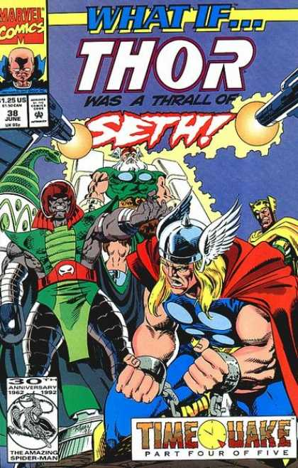 What If? 38 - Thor - Seth - Timequake - Part 4 Of 5 - Amazing Spider Man - Paul Ryan