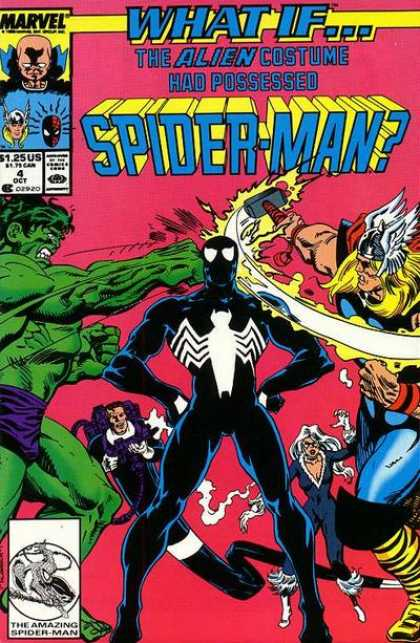 What If? 4 - Marvel - Hulk - Spider-man - Thor - The Alient Costume