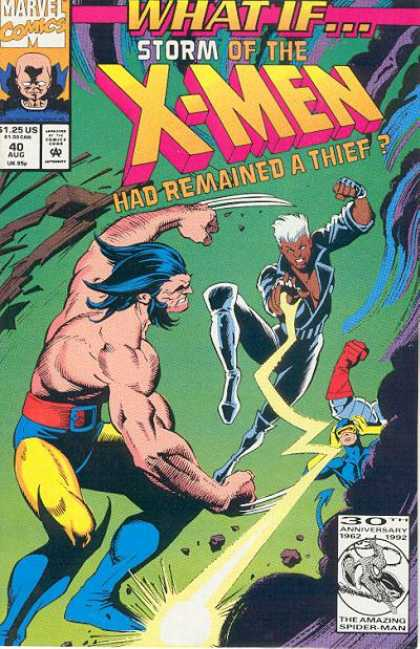 What If? 40 - Storm - X-men - Remained - Thief - Marvel - Michael Golden