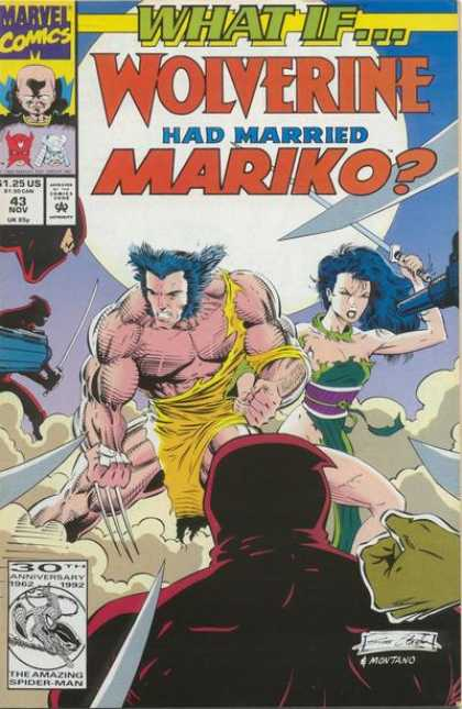 What If? 43 - Wolverine Had Married Mariko - Ninjas - Swords - Guns - Moon