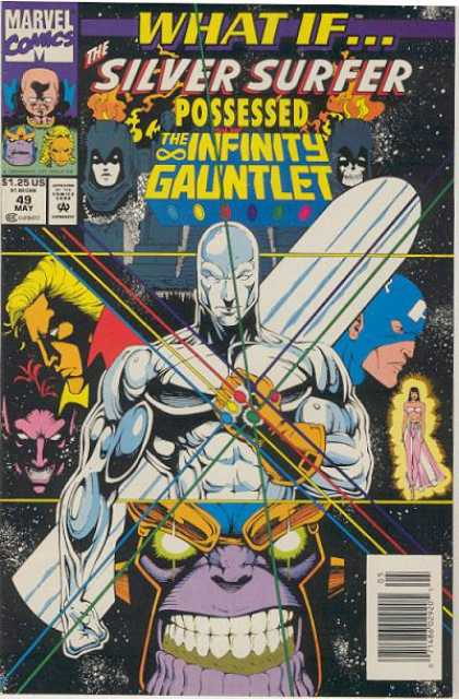 What If? 49 - Marvel - Silver Surfer - The Infinity Gauntlet - Costume - Superhero
