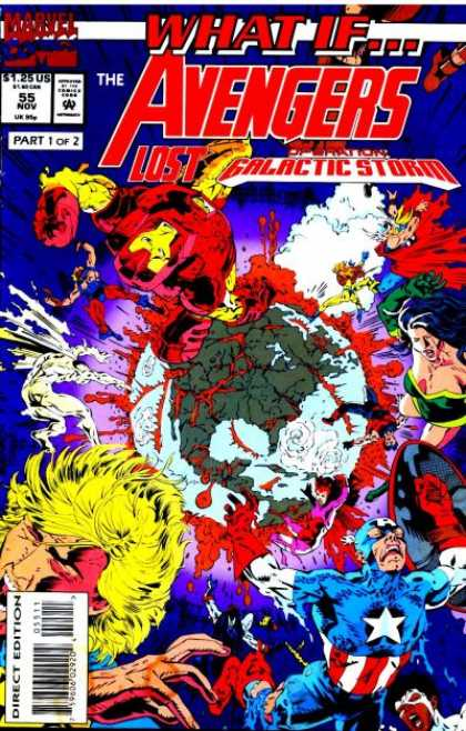 What If? 55 - Avengers - 55 - Nov - Part 1 Of 2 - Galactic Storm