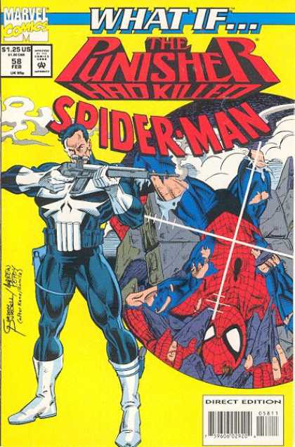 What If? 58 - Punisher Shooting At Spiderman - Spiderman At The End - Rifle Gun - Spiderman In The Crosshair - Spiderman Killed