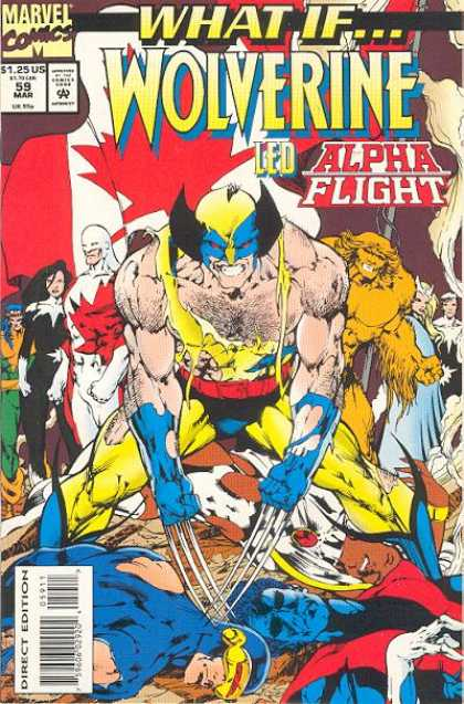 What If? 59 - Wolverine - Alpha Flight - Marvel - X-men - March - Bryan Hitch