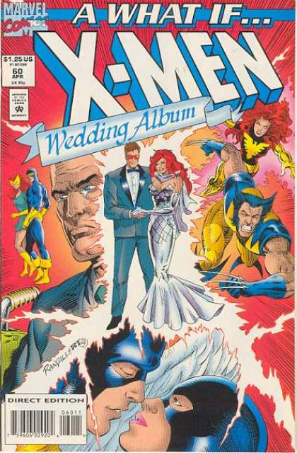 What If? 60 - Marvel Comics - 125 Us - Wedding Album - Direct Edition - Woverrine