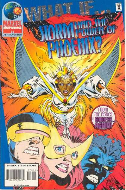 What If? 79 - The Phoenix - Arising From The Ashes - Xmen - Storms New Identity - Storms New Powers - Mike Wieringo