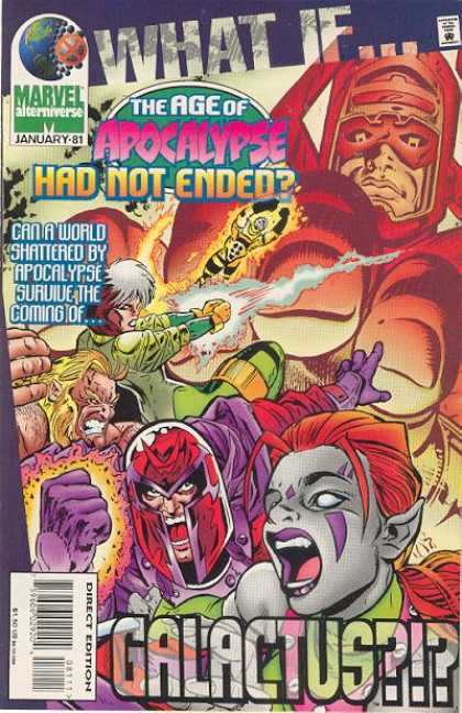 What If? 81 - Apocalypse - Marvel Alterniverse - Galactus - Mutant - Direct Edition