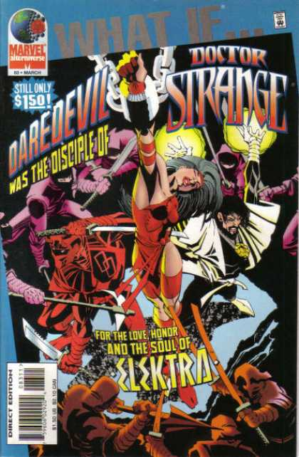 What If? 83 - Doctor Strange - Daredevil - Soul Of Elektra - Love And Honor - Red Dress