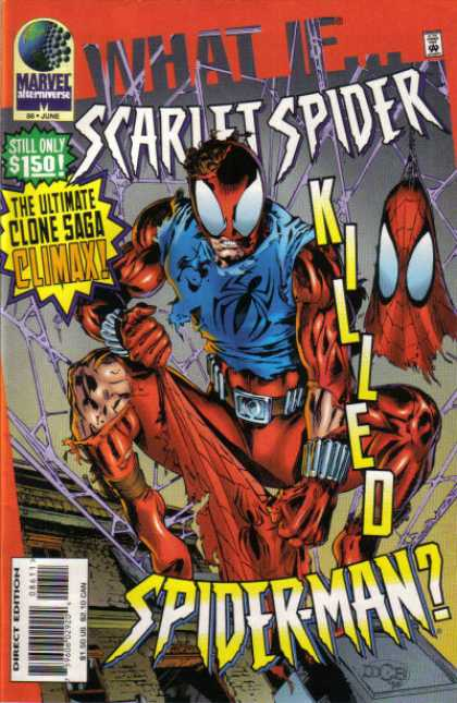 What If? 86 - Spiderman - Scarlet Spider - Clone Saga - Marvel - Alternate Universe