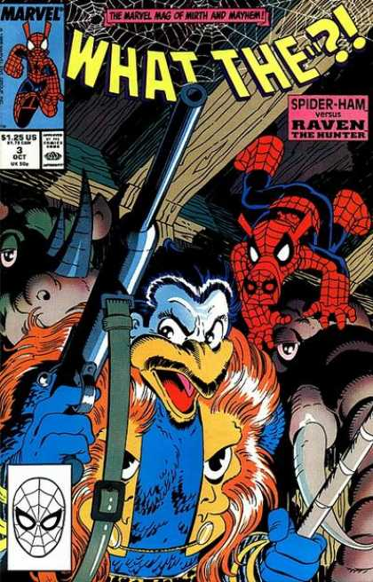 What The ?! 3 - Spiderman - Raven - The Hunter - Pig - Rhino