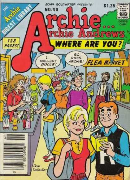 Where Are You 40 - Flea Market - Dolls - John Goldwater - No 40 - Antiques