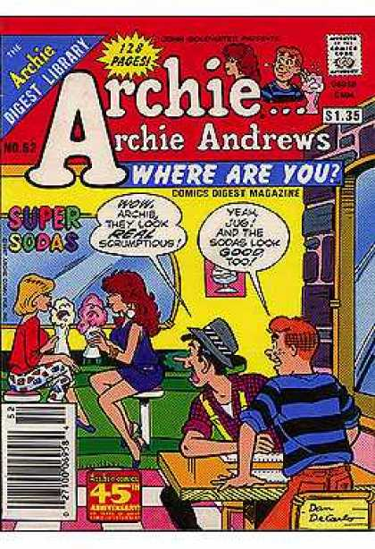 Where Are You 52 - Archie - Soda - Girls - Mirror - Restaurant