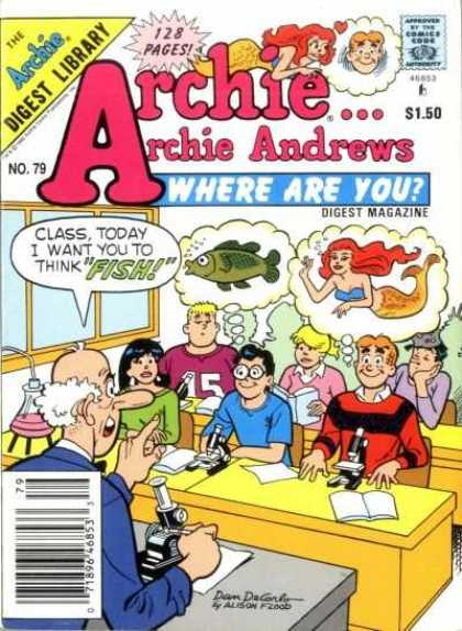 Where Are You 79 - Archie - Andrews - Class Today - Think Fish - Dreamers