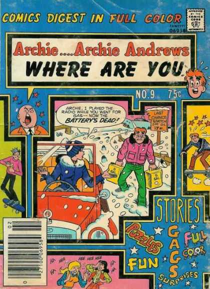 Where Are You 9 - Jughead - Archie - Stars - Blue Jacket - Pink Jacket