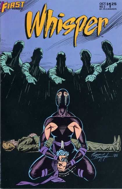 Whisper 3 - Fingers - People In Shadow - First - Death - Crying Woman - Norm Breyfogle