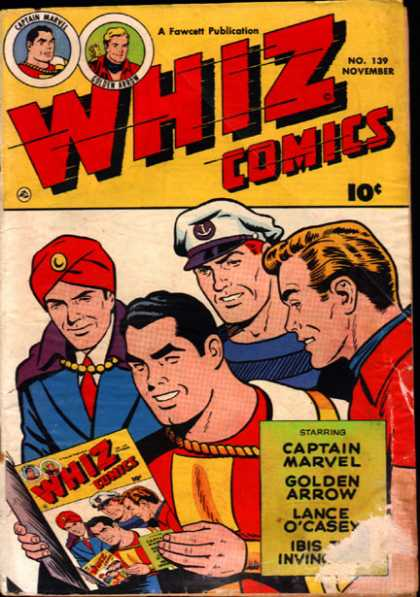 Whiz Comics 139 - Superman Meets Superman - Look At This - No One Knows - Dont Look At This - What Is It