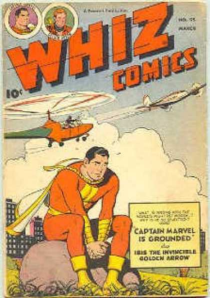 Whiz Comics 95 - 0c - Captain Marvel Is Grounded - Golden Arrow - No65