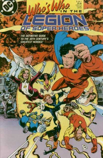 Who's Who in the Legion of Super-Heroes 1 - Together Again - Fighting Greats - Flying High - The Brave Are Back - Day Savers Of Time