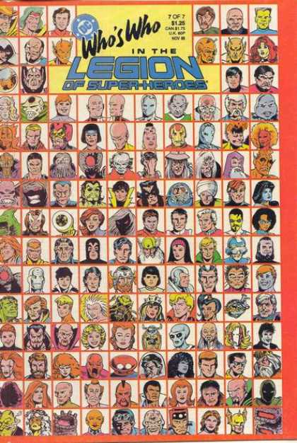 Who's Who in the Legion of Super-Heroes 7 - Colleen Doran, Mike Carlin