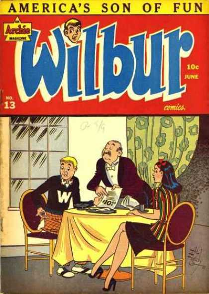 Wilbur 13 - Archie - Wilbur - Cant Pay The Bill - Expensive Date - Fancy
