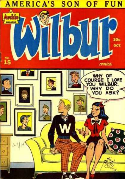 Wilbur 15 - Archie - Pictures - College - Teen Humor - Couch