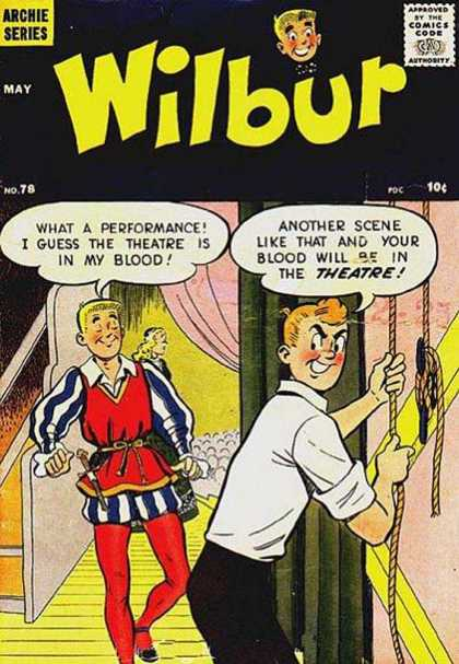 Wilbur 78 - Archie - Speech Bubbles - May - 10 Cents - Blonde