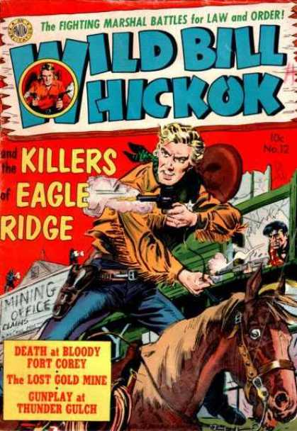 Wild Bill Hickok 12 - Bill - Gun - Killer - Horse - Man