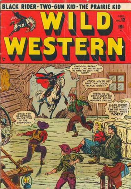 Wild Western 12 - Black Rider - Two-gun Kid - The Prairie Kid - Cowboys - Hostages