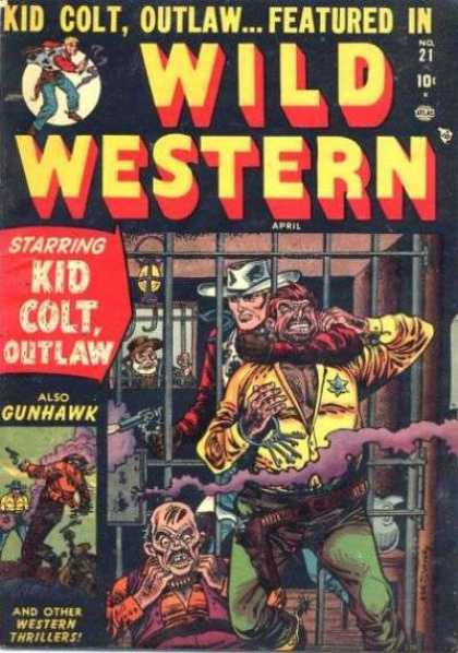 Wild Western 21 - Jail - Cowboy - Killing - Hostage - Guns