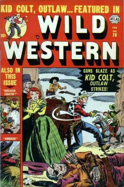 Wild Western 26 - Wild West - Outlaw - Kid Colt - Guns - Western