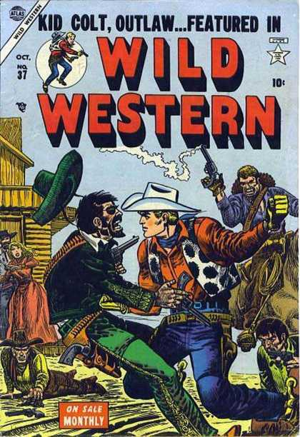 Wild Western 37 - Gunslinger - Boy - Gunfight - Fistfight - Monthly