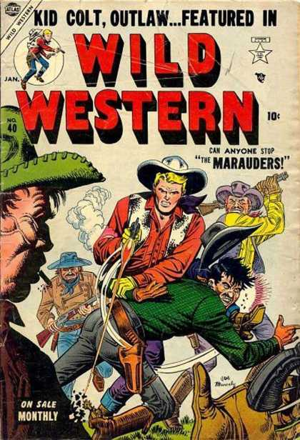 Wild Western 40 - Western - Wild - Guns - Violence - Featured