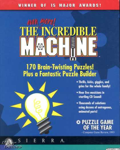 Windows 3.x Games - The Even More Incredible Machine