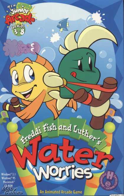 Windows 3.x Games - Freddi Fish and Luther's Water Worries