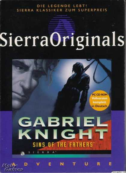 Windows 3.x Games - Gabriel Knight: Sins of the Fathers