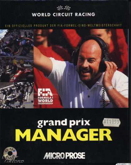 Windows 3.x Games - Grand Prix Manager