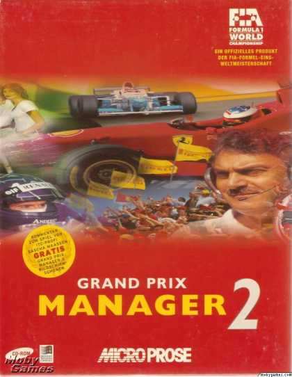 Windows 3.x Games - Grand Prix Manager 2